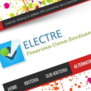 Aplikasi SPK Metode ELECTRE
