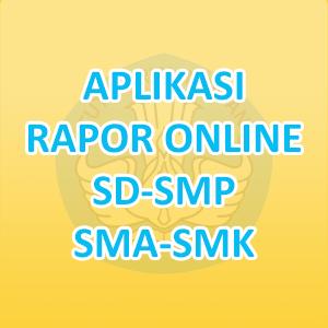 Aplikasi Rapor Online SD/SMP/SMA/SMK